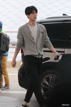 150529- EXO Oh Sehun; Incheon Airport to Shanghai Airport #fashion #style