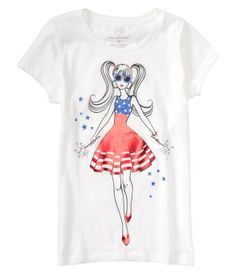 Kids' Americana Girl Graphic T - PS From Aéropostale®