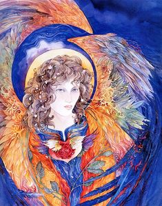 Angel of the Heart Chakra by Helena Nelson Reed