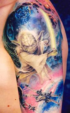 Tattoo Artist - Oleg Turyanskiy - www.worldtattoogallery.com/movies_tattoo
