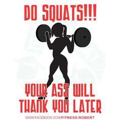 do squats!