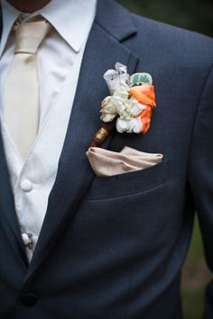 Boutonnieres for the Boys, Wedding Flowers Photos by Ais Portraits - Image 99 of 100 - WeddingWire