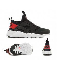size 40 b4574 536d8 Chaussure Nike Huarache Run Ultra Noir Rouge