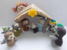 Amigurumi Nativity Scene - crochet pattern - PDF instructions