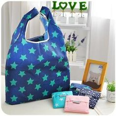 cool Foldable Star Print Shopper Bag Check more at http://arropa.net/uk/accessories/product/foldable-star-print-shopper-bag/