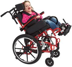The Kanga TS Pediatric Tilt-In-Space Wheelchair is a lightweight tilt-in-space pediatric stroller for children approximately 4 years old to adolescents with special needs. The adaptive stroller folds, tilts, available in three sizes and adjustable allowing it to grow with the child.