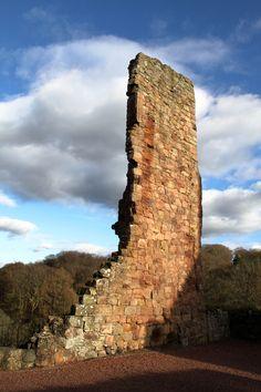 Roslin Castle, Midlothian, Scotland