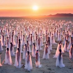 """Photo by Spencer Tunick 