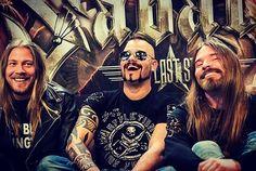 Thobbe, Jocke and Pär #metalhead #metal #heavymetal #sabaton #joakimbrodén #jockebrodén #thobbeenglund #pärsundström  Pic: Joanna Hemmingsson on facebook
