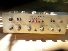 Vintage Fisher Tube 400 CX-2 Preamp w/Phono Pre Amp Listing in the Amplifiers,Vintage Electronics,Electronics Category on eBid From Zardiw