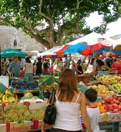 french market France | Esperaza market in Aude, South France