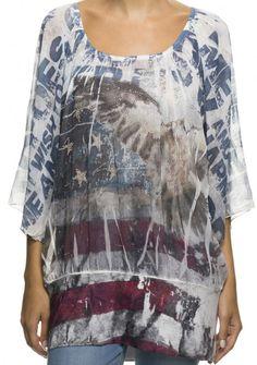 Missy Blouse American Dream