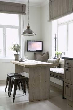 Een kijkje in de keuken van de Noorse interieurontwerpster Christine Fikseaunet door Tamara