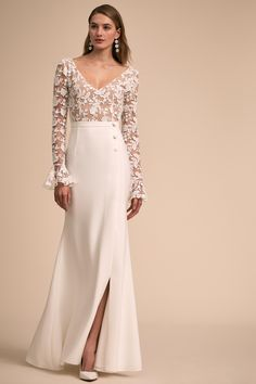 Haley Gown from @BHLDN