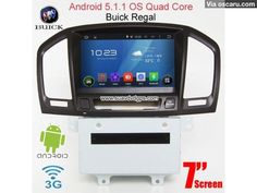 Buick Regal Android 5.1 Car Radio WIFI 3G DVD player GPS multimedia