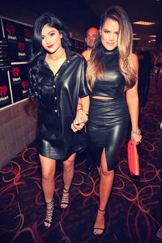 Kendall and Kylie Jenner, Khloe and Kourtney Kardashian iHeartRadio Music Festival Village at MGM Grand, September 21, 2013