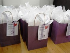 Hotel Wedding Guest Welcome Bag