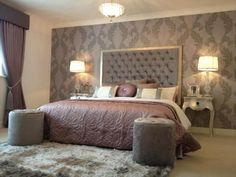 Charteris show home. What a beautiful bedroom