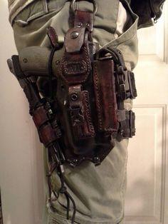 A little heavy, but it looks badass!
