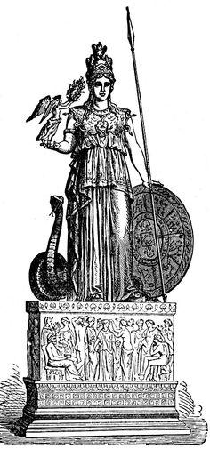 Greek Goddesses :: Athena