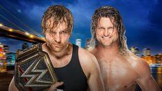 WWE World Champion Dean Ambrose vs. Dolph Ziggler