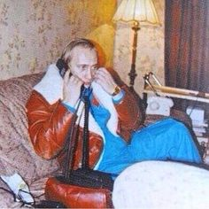 A rare photo of Vladimir Putin from when he worked as an informant for Starsky and Hutch.