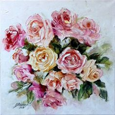 Canvas Size, Oil On Canvas, Original Paintings, Original Art, Realism Art, Saatchi Art, Floral Wreath, Fine Art, The Originals