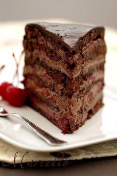 Marcello - Chocolate Cherry Cake