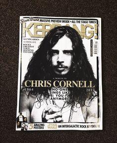chris cornell. — simplybel: ~ KERRANG! tribute to Chris Cornell ~