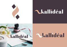 Création d'un logo pour mon nouveau projet personnel nommé @kallideal ... Dans lequel je partagerai mes créations en matière de calligraphie et décoration... Qu'en pensez vous ?  #logoinspirations #logoroom #logoinspire #logodaily #designlogo #brandingdesign #logos #logon #logodesigner #instagram #behance #dribblers #colorful #artist #artwork #design #illustrator #logoconcept #logonew #logobrand #logotipo Logo New, Design Logo, Branding, Decoration, Creations, Behance, Logos, Artwork, Movie Posters