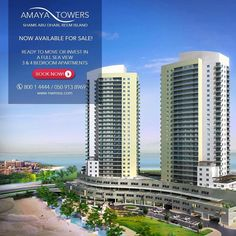 Living in a #Luxury, is that your #dream? It's going to be a reality now!  Own your apartment and find #luxury and #comfort for you and your family in Amaya towers on Al Reem Island.  3 and 4 Br #apartments available with full sea view.  Book a viewing now! Call: 050-9138969 I Toll Free: 800 1 4444 or visit www. nwmea.com  #realestate #realtors #realestateinvesting #investors #investment #properties #Nationwide_AD #inabudhabi #instaAbuDhabi #followme #AbuDhabi #propertyinvestment…