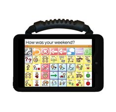 Wego 7A (Apple iOS) Speech Device with QuickSteps vocabulary may help children with Autism to communicate! Funding is available through Medicare, Medicaid and private insurance programs. #AAC #Autism