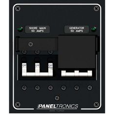 paneltronics waterproof panel dc 4 position illuminated rocker switch paneltronics ship shore selector 240 vac