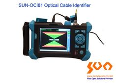 Optical cable identifier, cables locating and identifying by audio and visual, distance up to 40 km Fiber Optic Cable, Distance, Keys, Audio, Touch, Sun, Model, Key