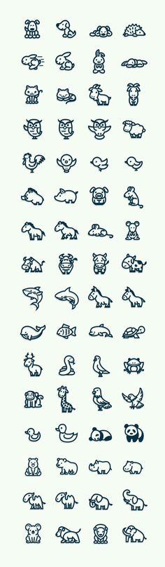 ~ CLIP ART GALORE ~ Various animals ex. dog, cat, rabbit, owl, goat, sheep, rooster, pig, boar, mouse, shark, cow, bull, horse, etc.