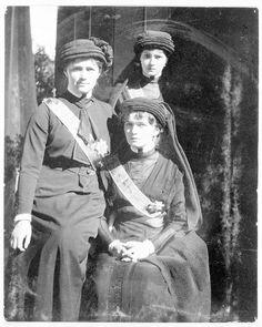 Grand Duchess Olga (Seated) Marie (to her left) and Tatiana (standing)