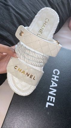 Chanel Sandals// Pre order for Sale in Los Angeles, CA - OfferUp Dr Shoes, Hype Shoes, Me Too Shoes, Golf Shoes, Cute Sandals, Shoes Sandals, Shoes Sneakers, Sneaker Heels, Summer Sandals