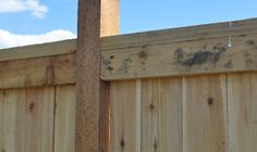 How to Build a 6 Foot Privacy Fence Wood Privacy Fence, Privacy Fence Designs, Fence Doors, Concrete Fence, Cedar Fence, Wood Fences, Pallet Fence, Bamboo Fence, Fence Gate