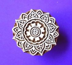 Hey, I found this really awesome Etsy listing at https://www.etsy.com/uk/listing/171534427/floral-wood-stamp-indian-round-print