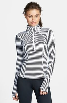 Zella 'My Run Layer 2' Half Zip Top available at #Nordstrom- small