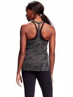 Go-Dry Performance Burnout Racerback Tank for Women