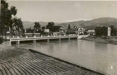 Tram crossing the bridge & heading to Gemmayzeh from Bourj Hammoud, #Beirut #Lebanon [1942]