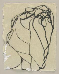 Brice Marden. 4 Howell Paper Drawings. (1996)