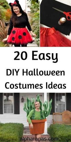 Are you excited about Halloween but not sure what you will wear?Find out easy DIY Halloween costumes ideas for kids and adults