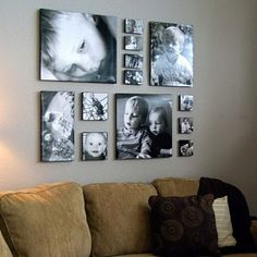 Pictures on canvas