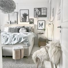 The beautiful bedroom of @mz.interior. Vita Eos light shade available online at www.istome.co.uk