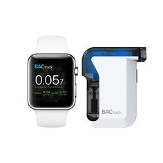The award-winning BACtrack Mobile Pro integrates a smartphone app and police-grade breathalyzer to bring blood-alcohol content (BAC) wirelessly to your device. Quickly and easily estimate your blood alcohol content (BAC), track your results over time, and with ZeroLine®, estimate when your BAC wi...