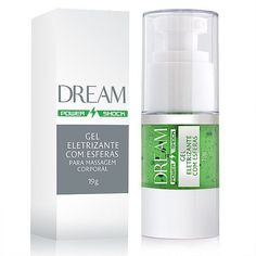 Dream Power Shock - Gel Eletrizante com Esferas - 19g; dream power; gel eletrizante; gel excitante; gel adão e eva