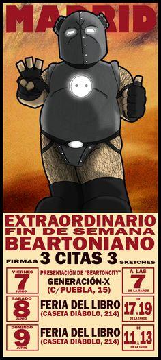 TENEMOS UNA CITA TRIPLE! TE VIENES?//JOIN US! https://www.facebook.com/events/454063784683739/  ¿Qué es BEARTON CITY? beartoncity.blogspot.com.es/2011/11/que-es-beartoncity.html