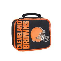 NFL Cleveland Browns NFL Sacked Lunchbox Black Measures 105 in Length 85 in Width  4 in Height * Want additional info? Click on the image.